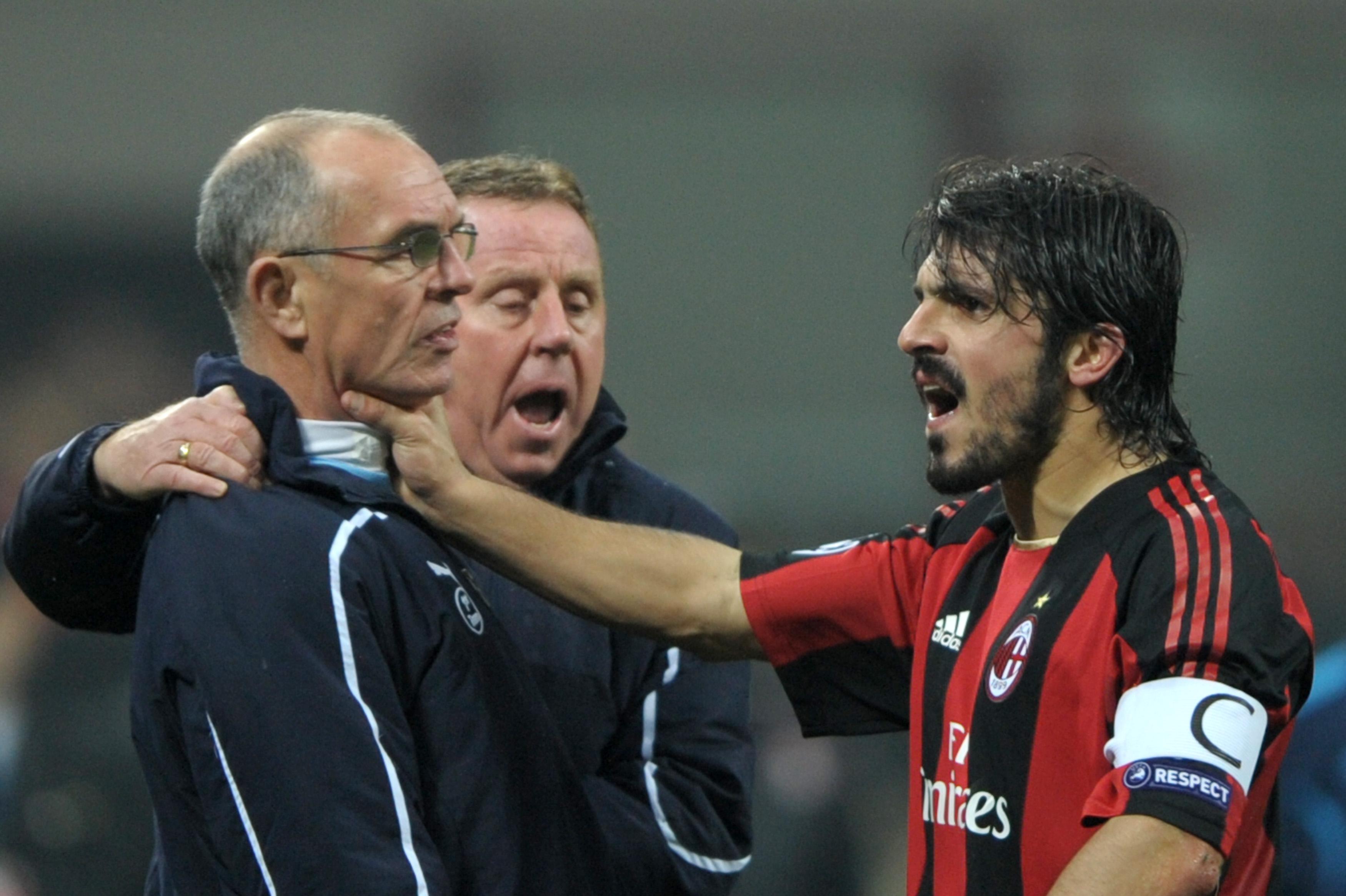 10 лет назад Дженнаро Гаттузо устроил массовую драку с «Тоттенхэмом»: схватил за шею тренера и ударил головой