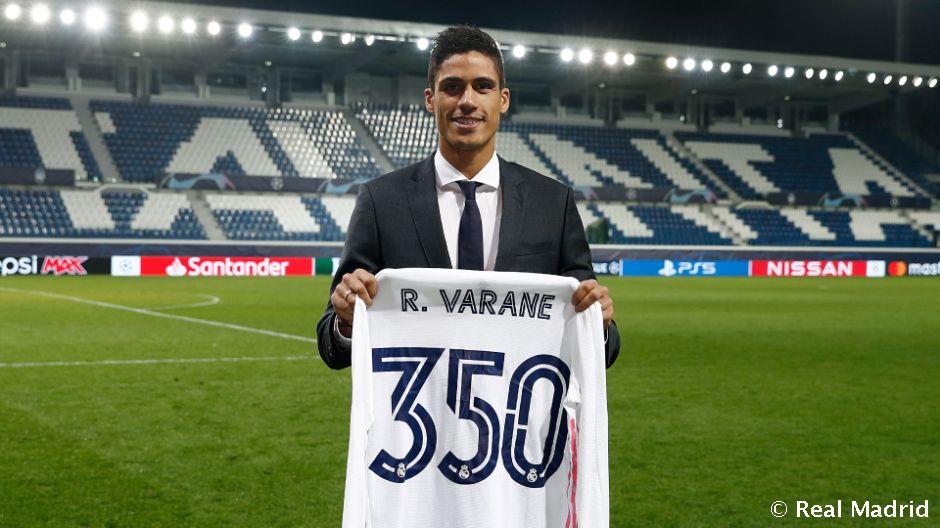 """Varan """"Real"""" libosida 350-o'yinida maydonga tushdi"""