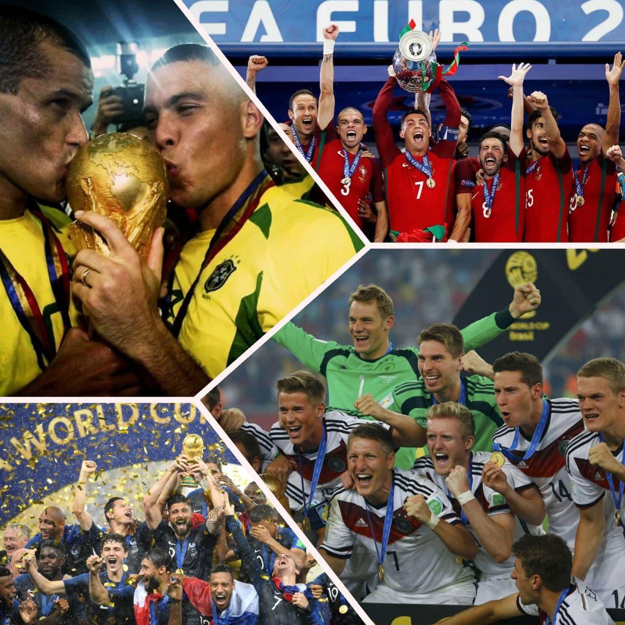 Сборная Германии по футболу, Сборная Португалии по футболу, Евро-2020, Роналдо, Поль Погба, Сборная Франции по футболу, сборная Италии по футболу, Фабио Каннаваро, Криштиану Роналду, Сборная Бразилии по футболу