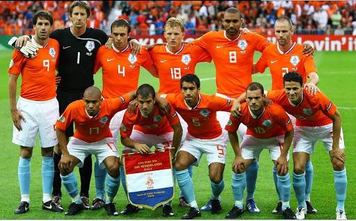 евроскилл, Марко ван Бастен, Уэсли Снейдер, Арьен Роббен, Руд ван Нистелрой, Евро-2008, сборная Нидерландов по футболу
