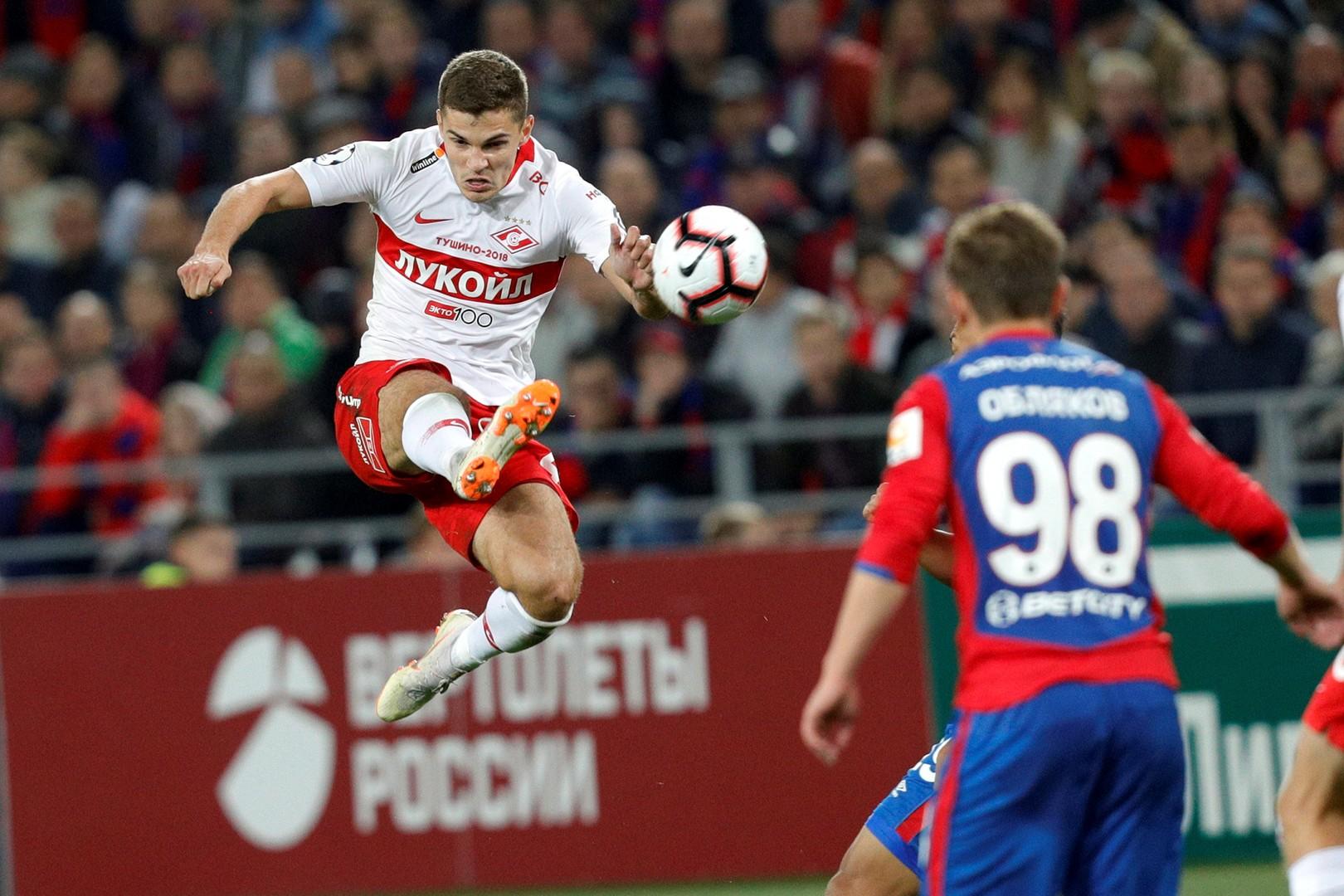 Зобнин: «Надеюсь, после дерби с ЦСКА смогу сказать, что счастлив»