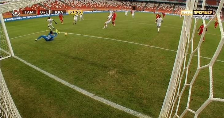 Быстров затроллил выбором лучшего игрока: назвал Бабурина после 4:0 «Краснодара». Говорит, на играх «Тамбова» нельзя быть серьезным