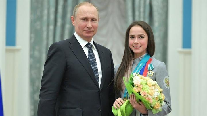 «Красная машина» на двоих: Алина Загитова и Роман Ротенберг