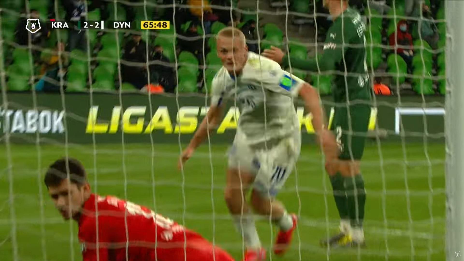 тур 23, Краснодар - Динамо 2:3