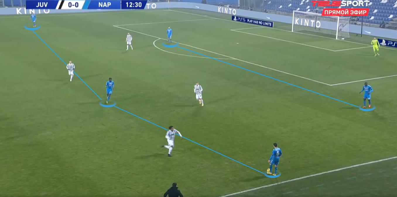 «Ювентус» пытался доминировать с мячом и без него, «Наполи» был плох в атаке