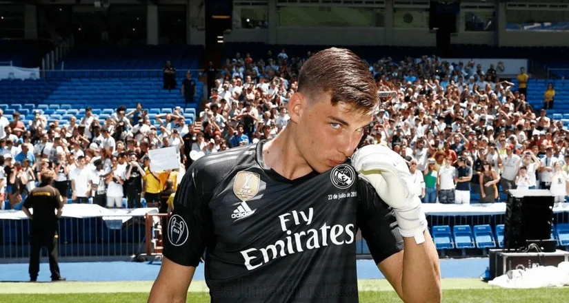Реал Мадрид, Андрей Лунин
