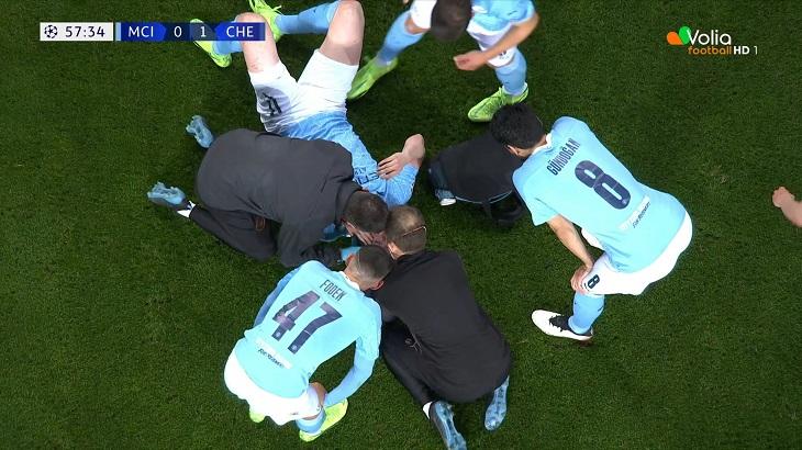 Боль Де Брюйне: получил в глаз от Рюдигера, в слезах ушел на скамейку – финал закончился фингалом
