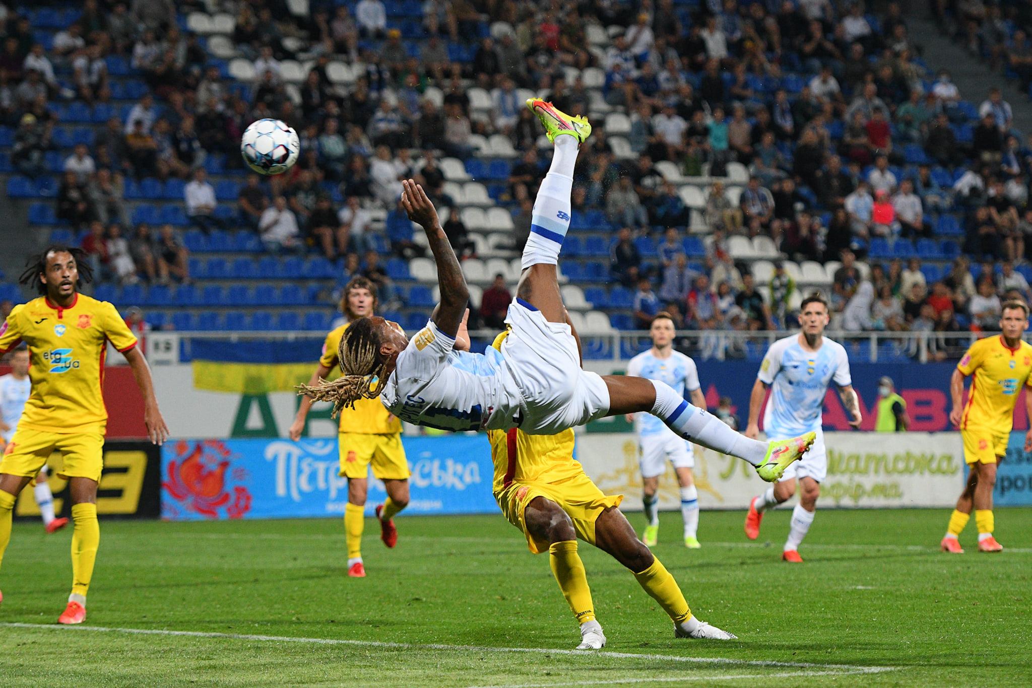 Ингулец, Чемпионат Украины по футболу, Динамо Киев