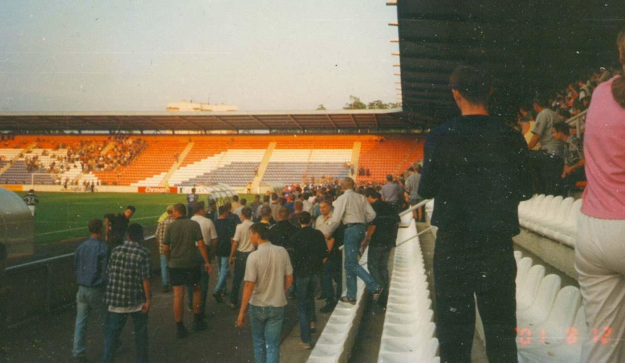 20 лет назад фанаты «Локомотива» и «Торпедо» устроили побоище прямо во время матча чемпионата России