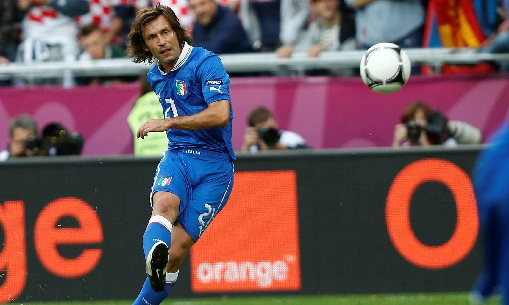 Евро-2012, Андреа Пирло, сборная Италии по футболу