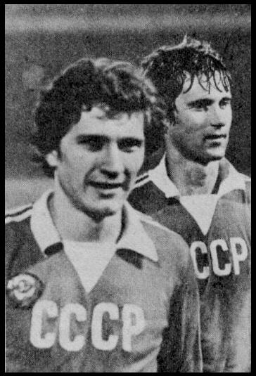 В 1981-м году сборная СССР была второй по силе в Европе и обладала при этом лучшей оборонительной линией континента