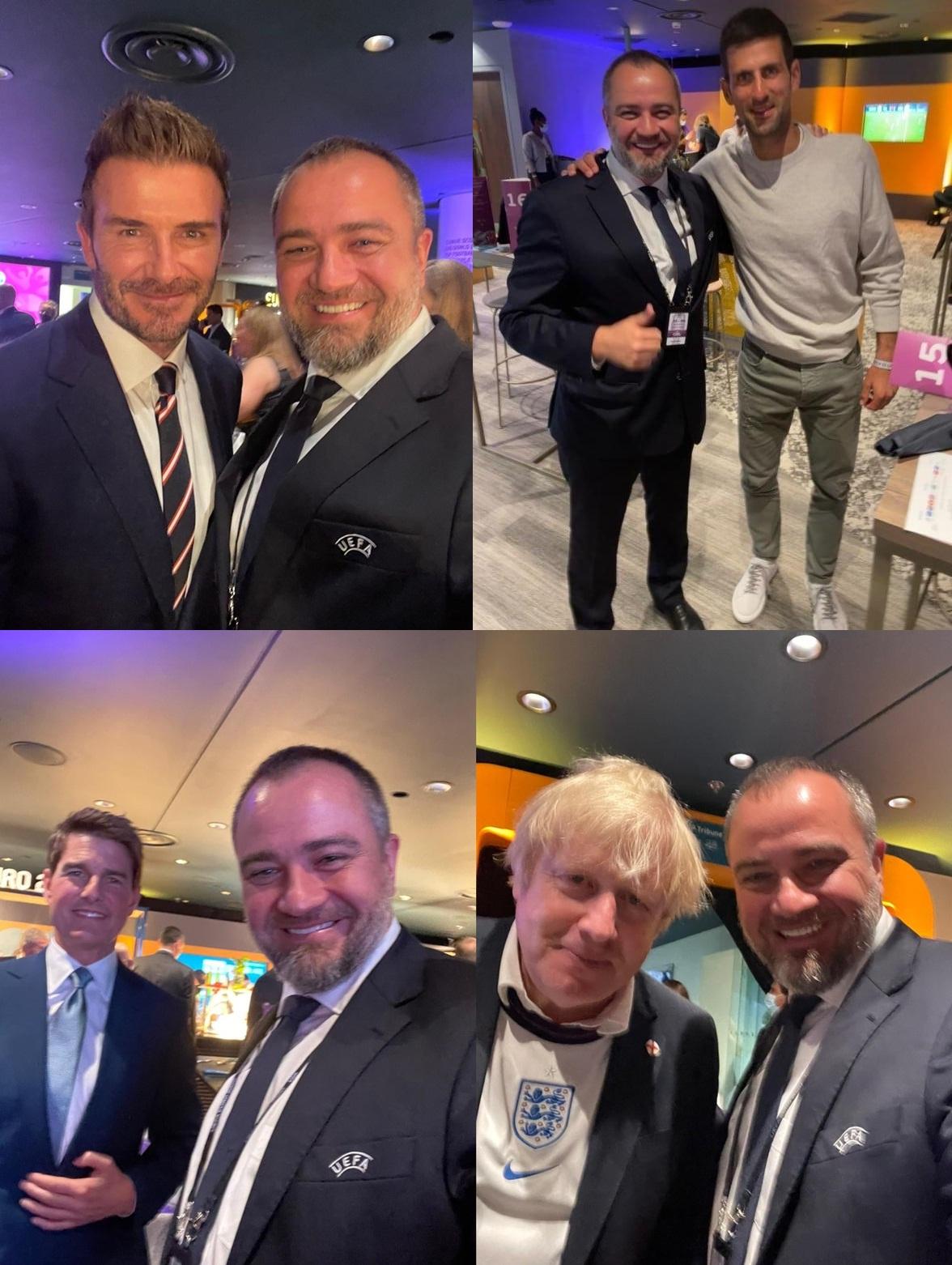 Александер Чеферин, Евро-2020, Андрей Павелко, УАФ, Сборная Украины по футболу, Дэвид Бекхэм