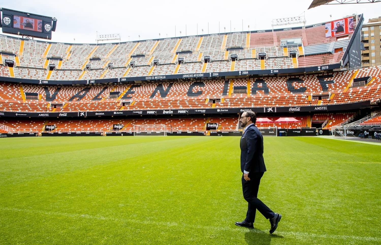 Спустя сезон Хосе Бордалас всё же доехал до «Валенсии», и вот что он сказал после подписания контракта