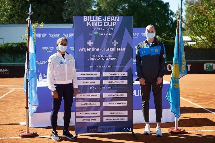 сборная Казахстана, Елена Рыбакина
