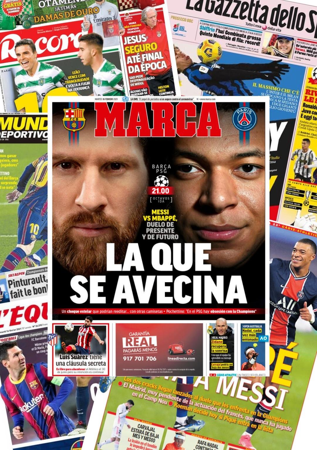 О чем пишет футбольная Европа во вторник 16.02
