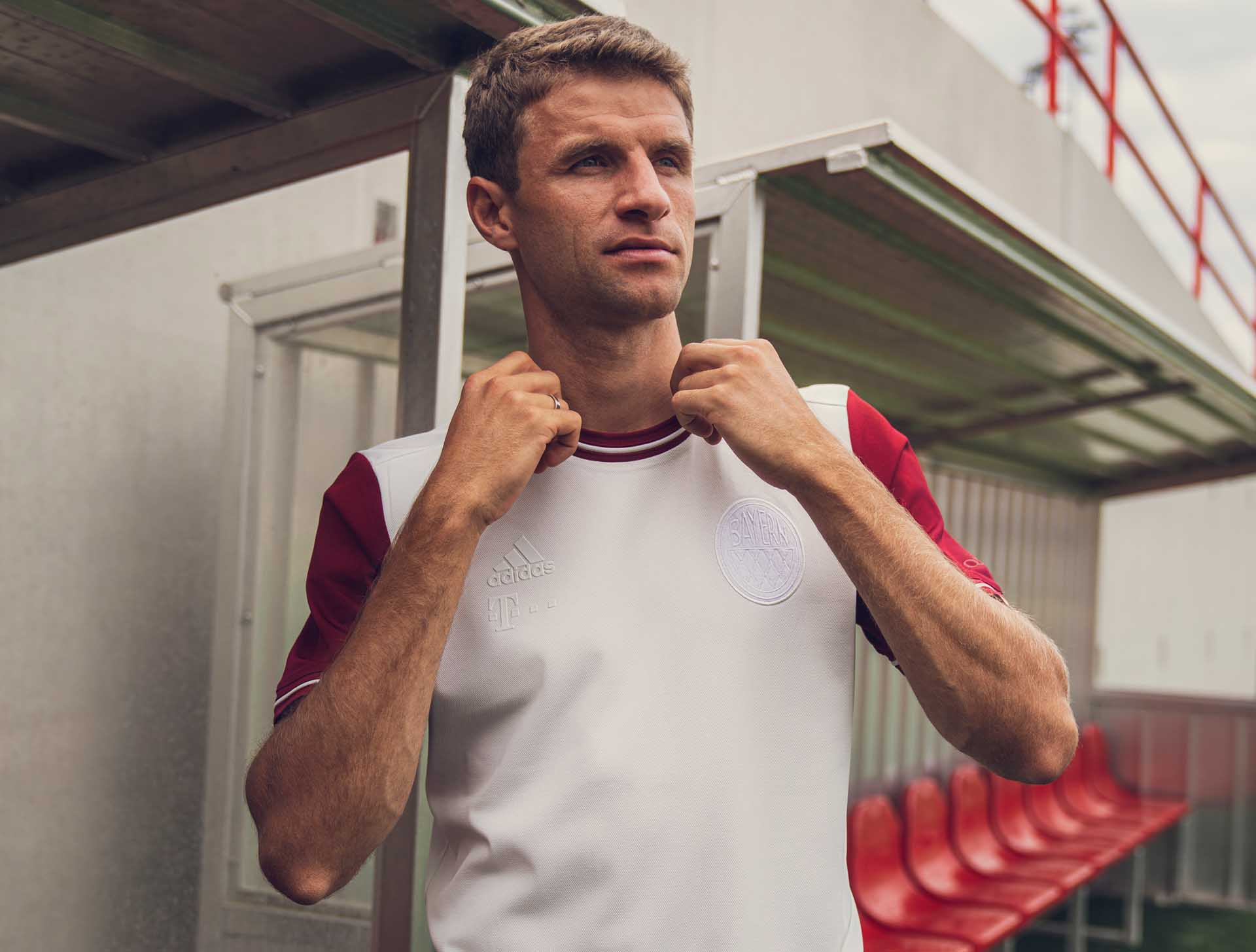 Бавария, стиль, бундеслига Германия, игровая форма, adidas, Томас Мюллер