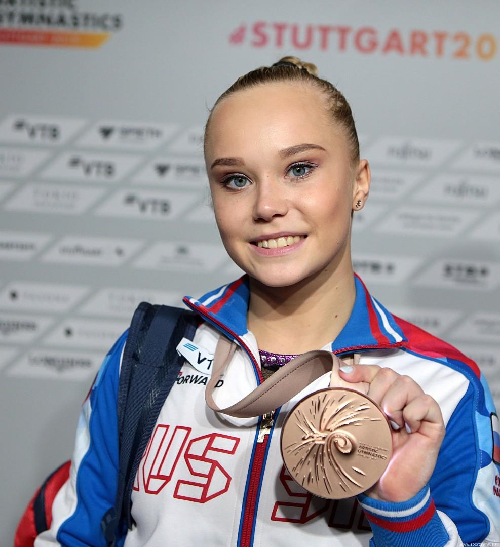 Ангелина Мельникова, Чемпионат мира по спортивной гимнастике 2019