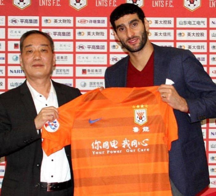 Феллайни уже два года играет в Китае: неожиданно для всех ушел из «МЮ», тяжело переносил ковид и помогал родному клубу