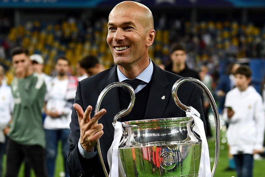 Реал Мадрид, Лига чемпионов УЕФА, Зинедин Зидан