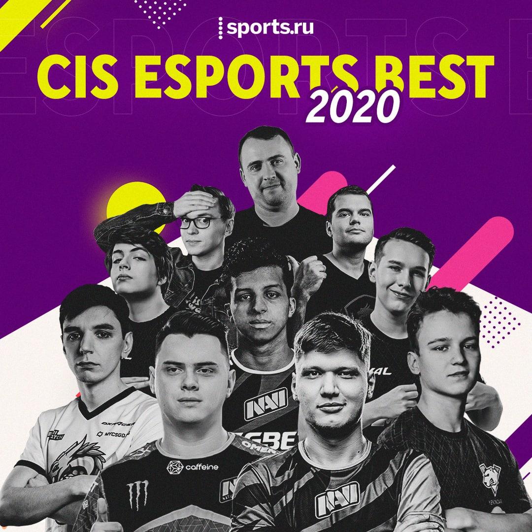 CIS Esports Best 2020, Dota 2, Cyber.sports.ru, Counter-Strike: Global Offensive