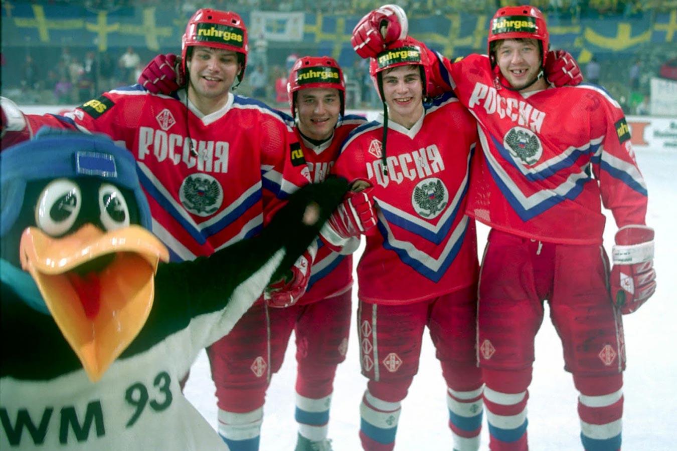 28 лет назад сборная России выиграла чемпионат мира по хоккею. В следующий раз это случится ой как нескоро