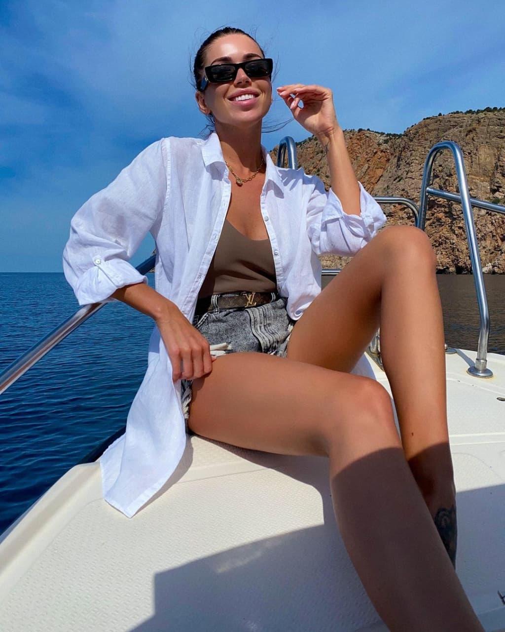 Карина Притченко – девушка Александра Марытновича. Кажется, из-за нее капитан «Краснодара» ушел от жены