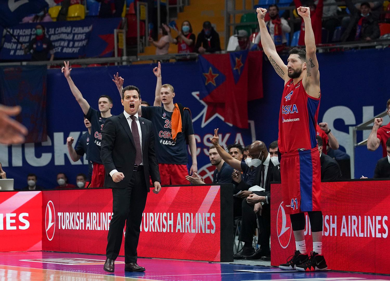 Заслуженно вторые. ЦСКА одерживает домашнюю победу над клубом из Франции и снимает вопросы по «регулярке»