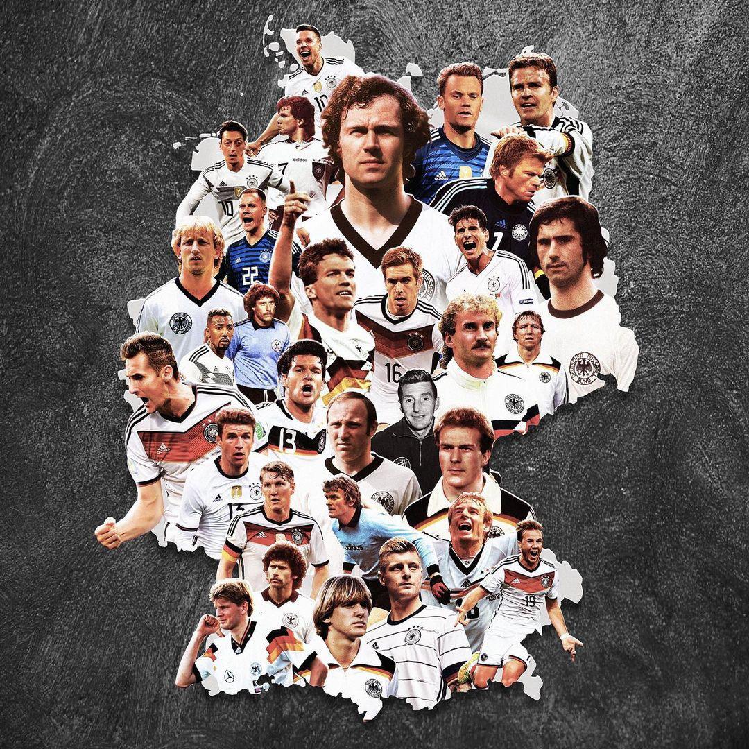 Шикарные арты легенд футбола, национальных топ-сборных