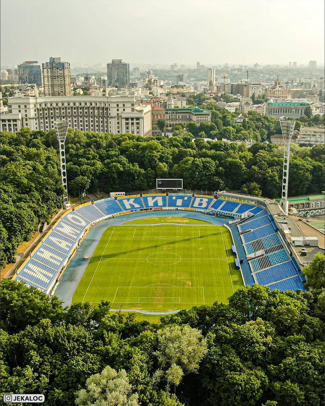 стадионы, фото, Динамо Киев, НСК Олимпийский, премьер-лига Украина