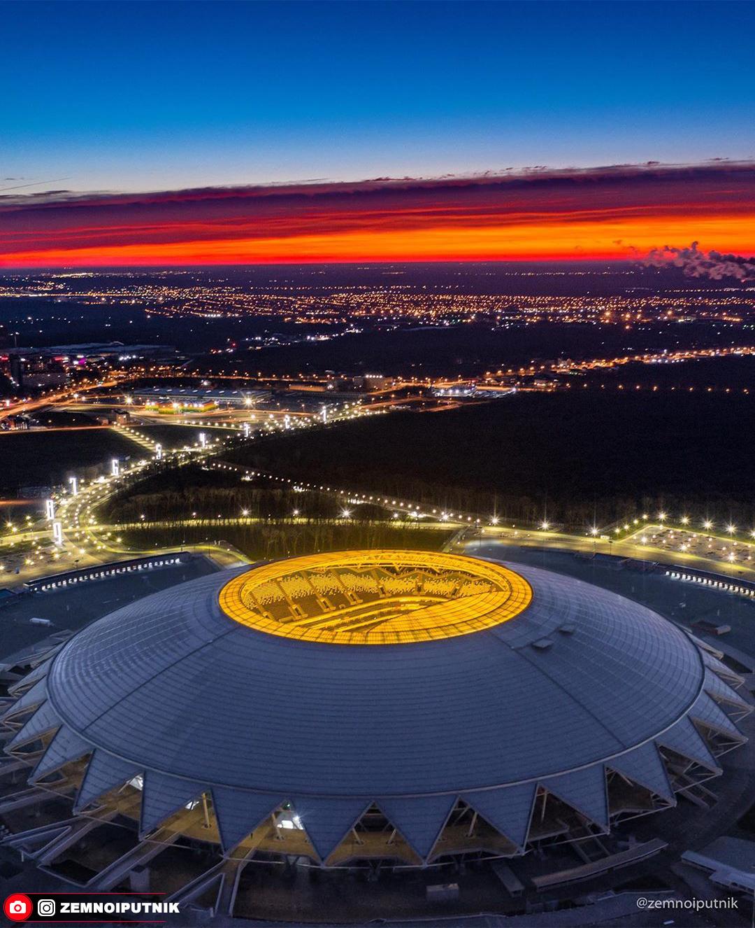 город картинки космос арена в самаре этого