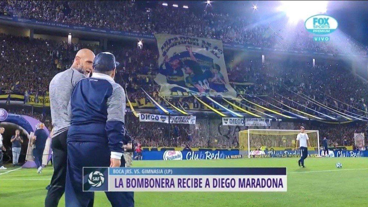 Тевес тоже посвятил гол Марадоне: надел ретро-майку «Боки»-1981 – это подарок Диего