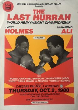 Ларри Холмс, Мохаммед Али, WBA, бокс, WBC