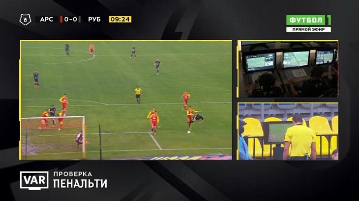 Суперкамбэк «Рубина»: с 0:2 на 4:2 за тайм. Перевернули за 17 минут, все забили после удаления у «Арсенала»