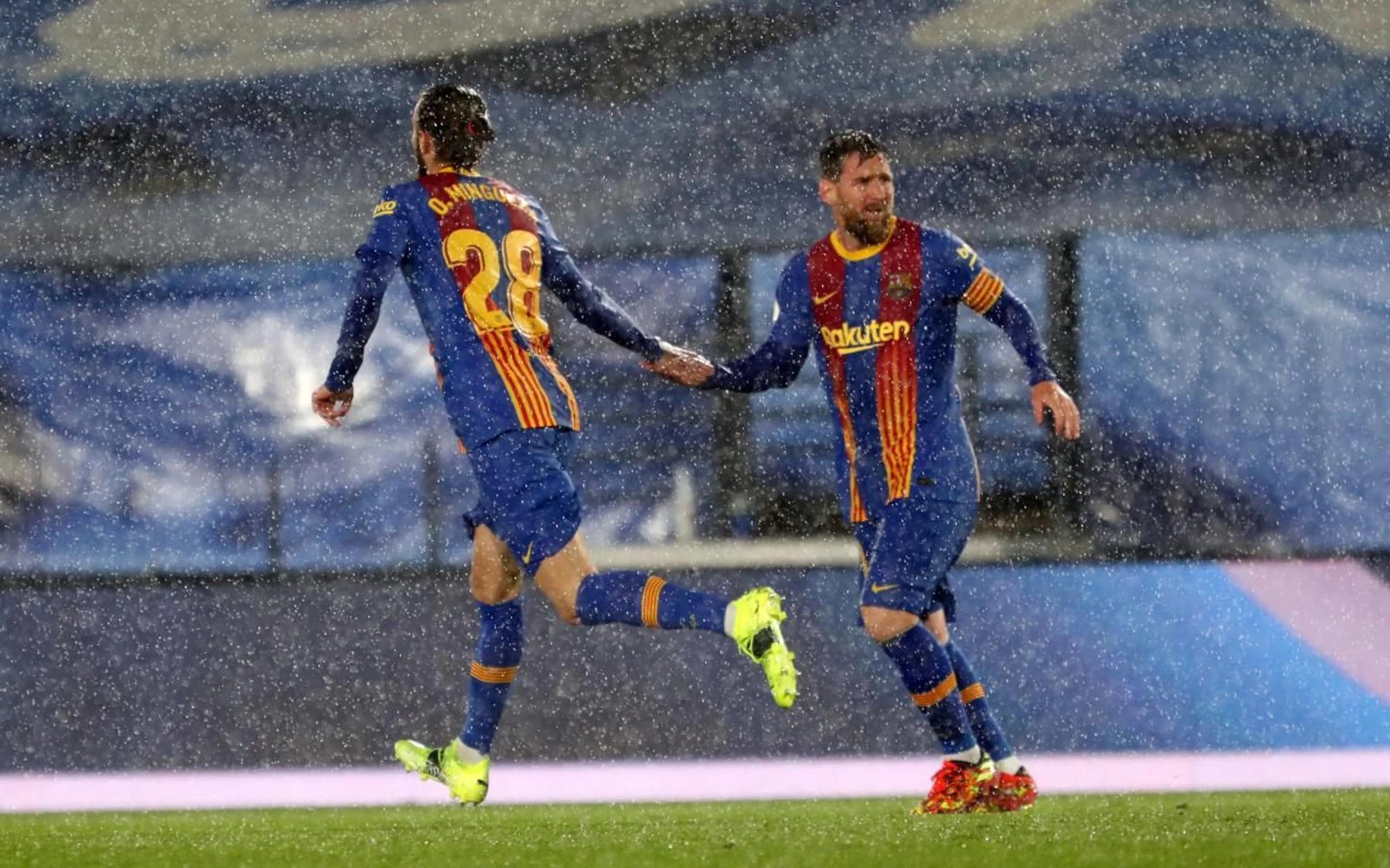 Мокрое Класико в Мадриде, или как Зидан и Куман в поддавки играли