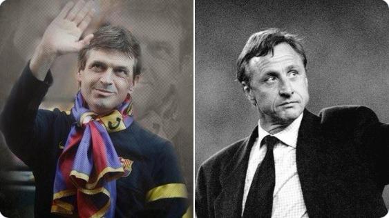 Сегодня «Ла Масия» и «Барселона» отмечают 74-ый день рождения Кройффа и 7 лет со дня смерти Тито Вилановы