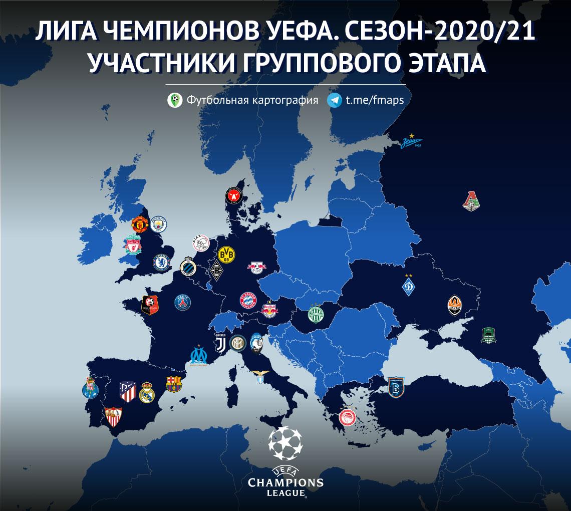 Лига чемпионов УЕФА, Лига Европы УЕФА, Локомотив, ЦСКА, Краснодар, картофакты, Бавария