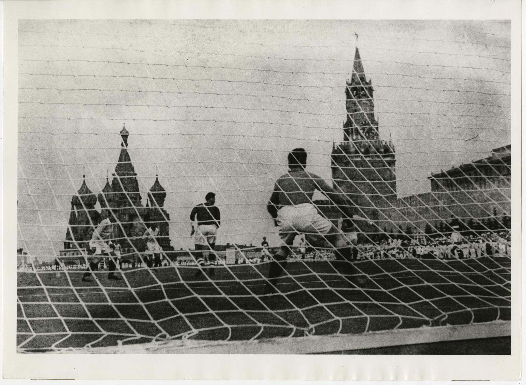 Футбол на Красной площади 1