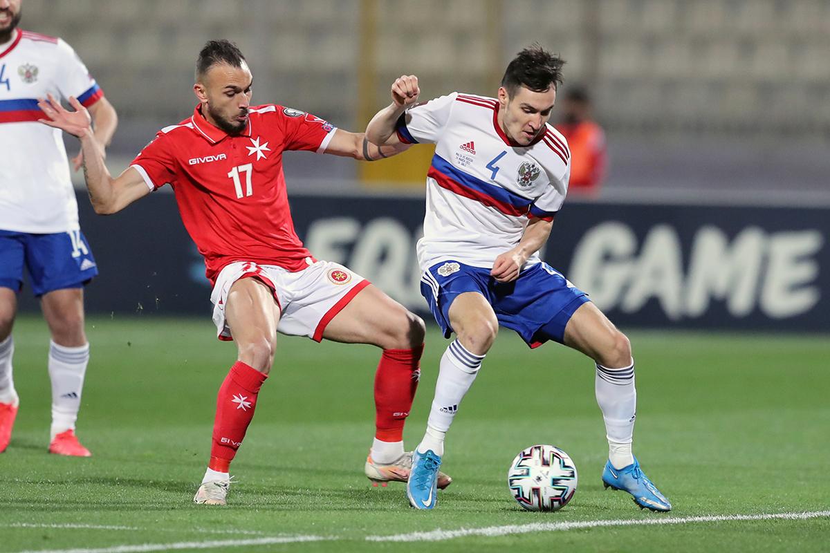 Оценки игроков сборной России в матче с Мальтой по версии WhoScored