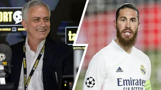 Серхио Рамос, Жозе Моуринью, Реал Мадрид, Манчестер Юнайтед