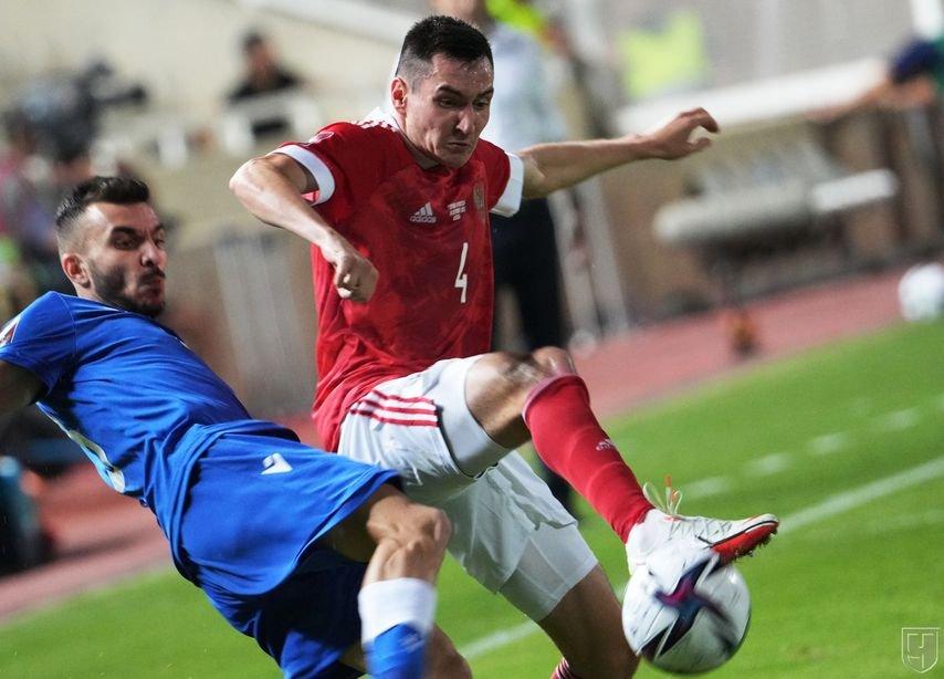 Сборная России сыграла с последним соперником по группе в первом круге отборочного турнира ЧМ-2022