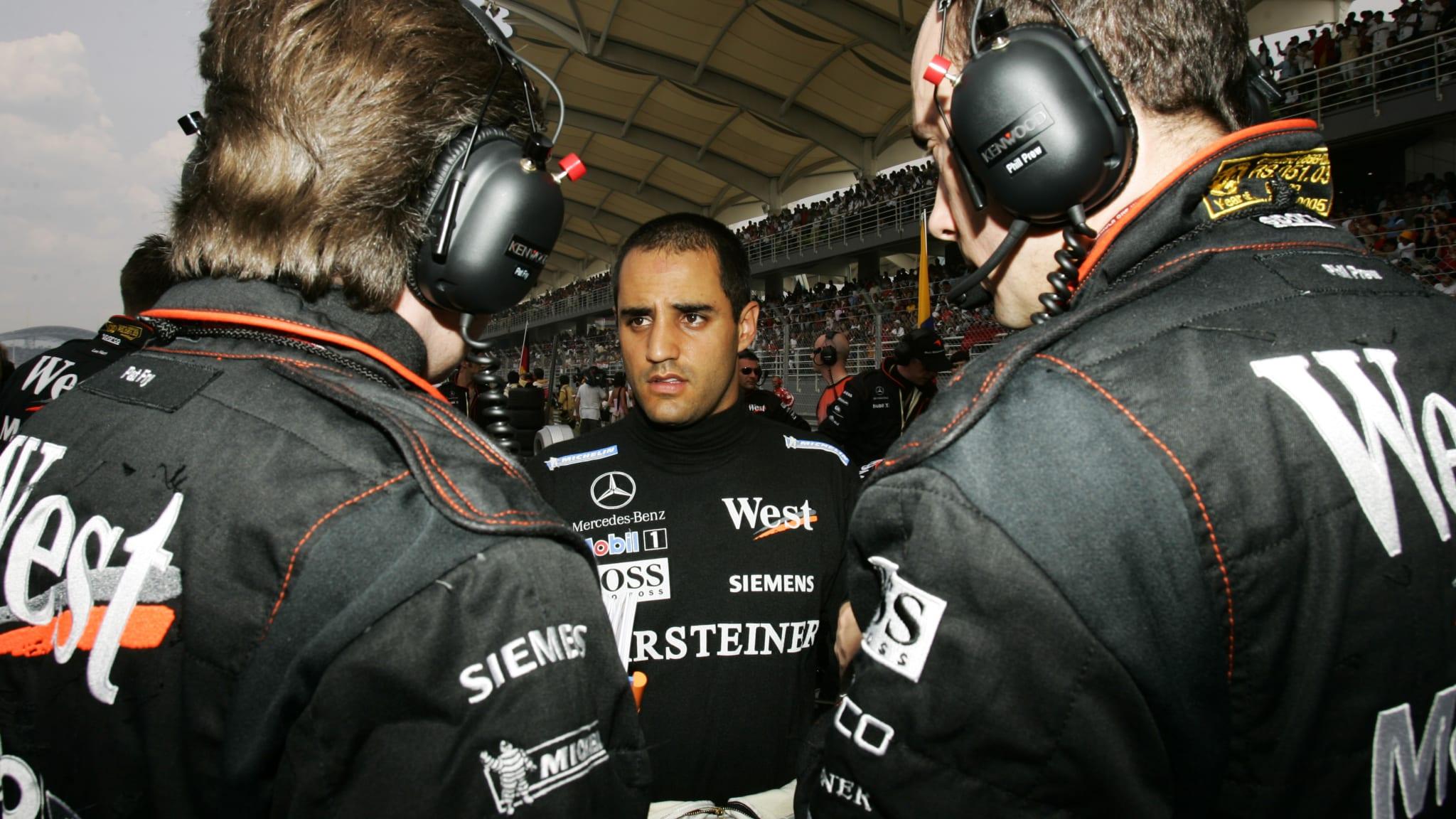 Монтойя в McLaren. Многообещающая история продлилась всего полтора года