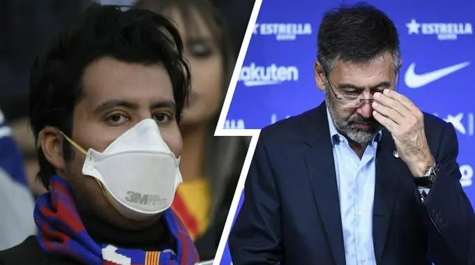 Только 15% долга «Барселоны» причитается Covid - член совета директоров Бартомеу сказал, что это 50%