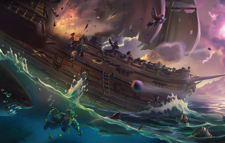 Sea of Thieves, Steam, Онлайн-игры, Rare, Гайды