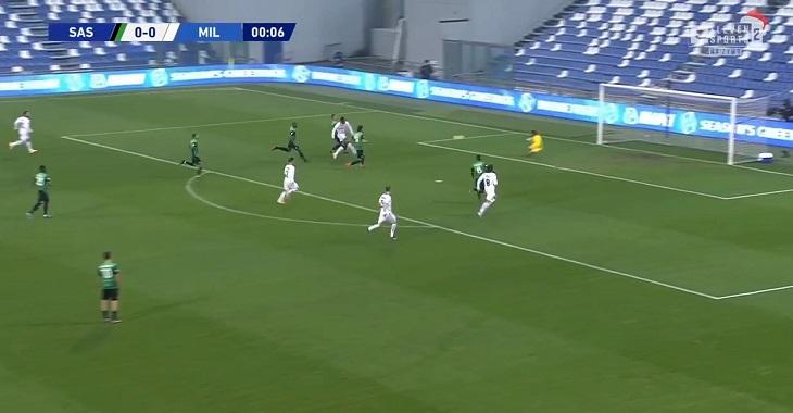 «Милан» забил за 6,2 секунды – самый быстрый гол в истории Серии А. Рекордсмен – форвард, который мог не сыграть из-за травмы