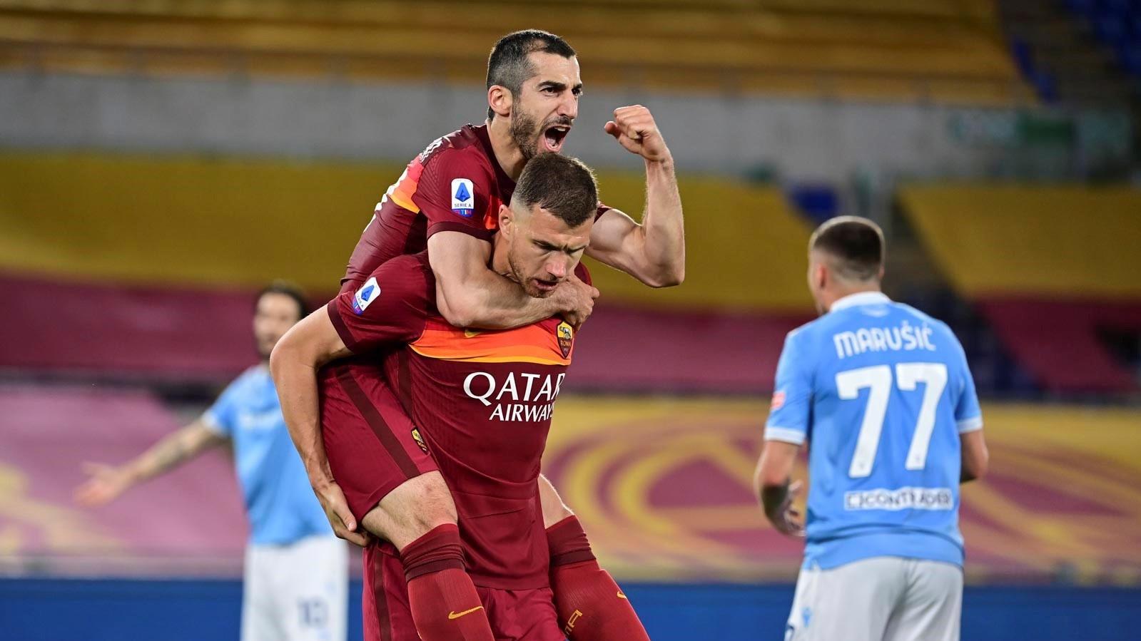 🇦🇲 Мхитарян забил победный гол в римском дерби. Кажется, «Роме» пора менять лого