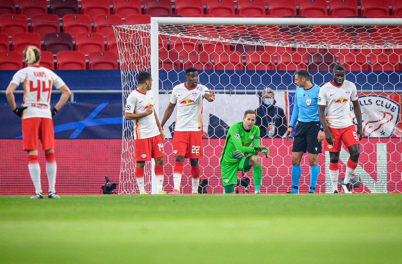 До первой ошибки. Обзор матча «РБ Лейпциг» - «Ливерпуль» в 1/8 финала Лиги чемпионов
