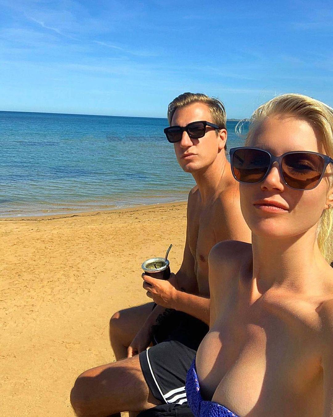 Даниэла Кристианссон – девушка Макси Лопеса. Шведская модель, с которой футболист забыл предательство Ванды