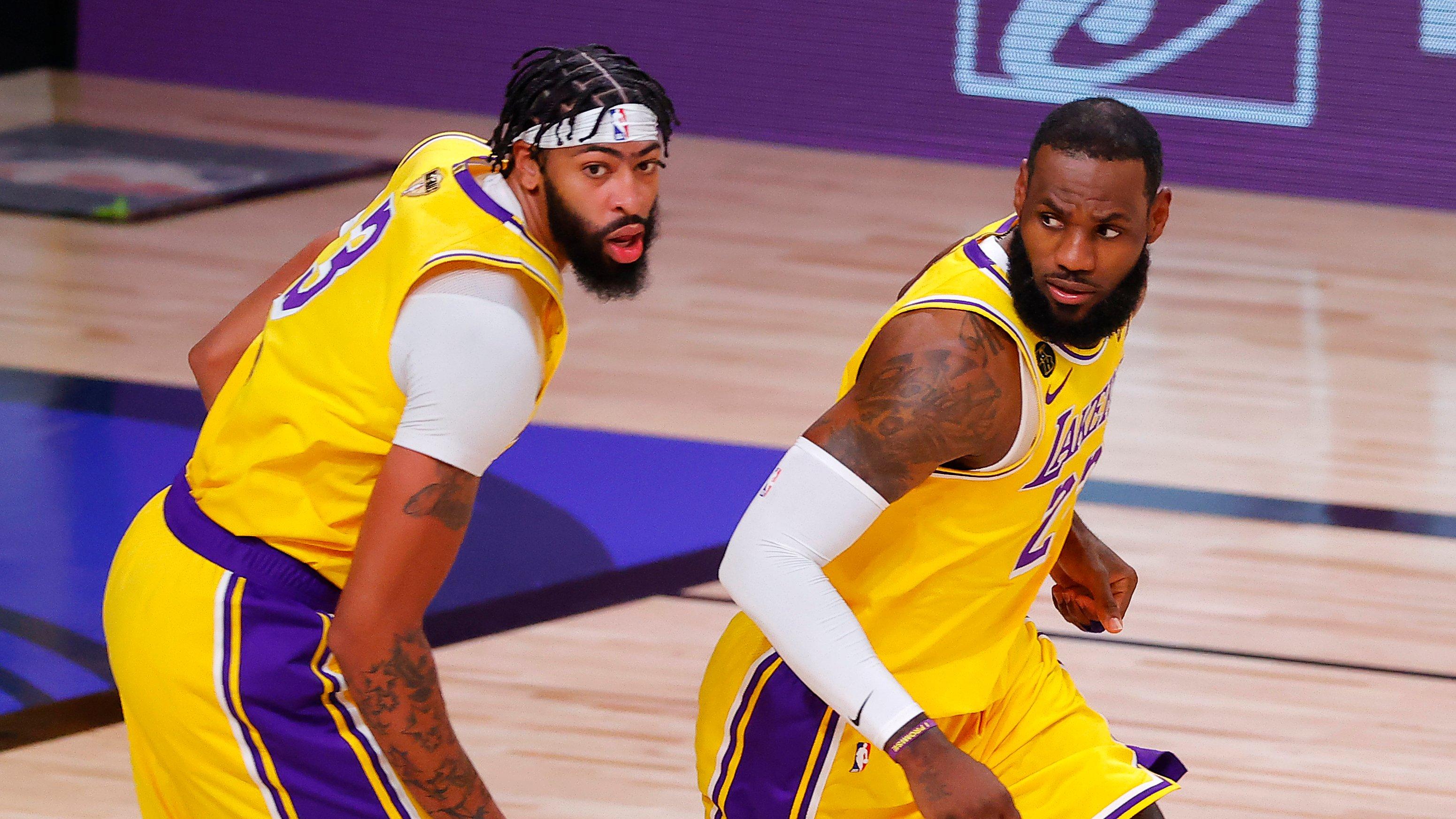 «Лейкерс» уничтожили «Майами» в первой игре финала. Доминировали даже в перерыве