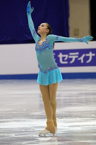 Балет, балет: Алина на олимпиаде-18 и её 'олимпийское фуэте'