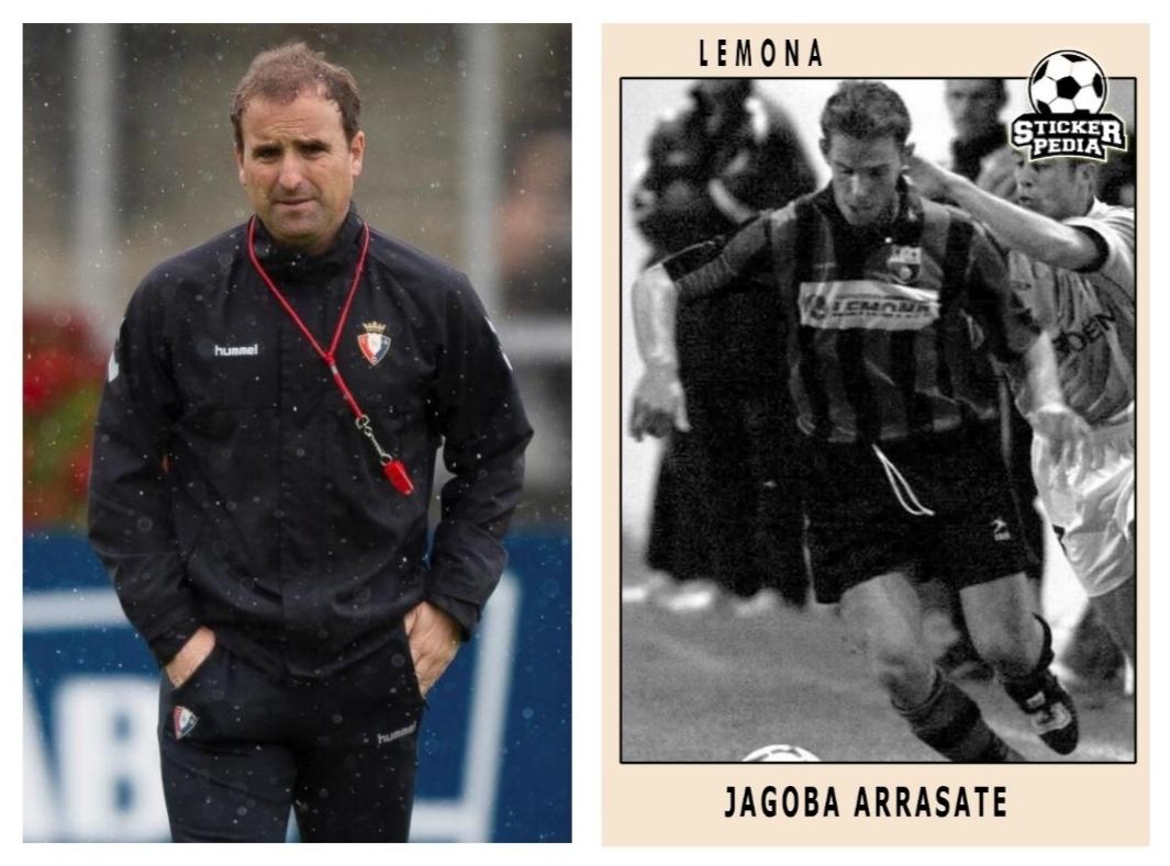 Олдскульные карточки игроков. Тренеры Ла Лиги - тогда и сейчас